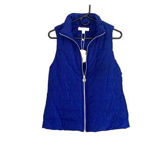 Michael Kors Cobalt Blue Vest